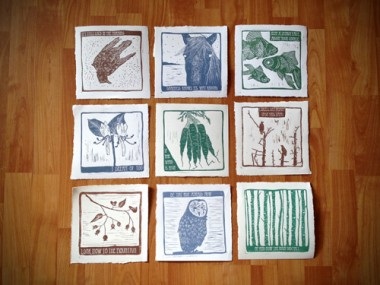 Dana Falconberry Block Prints