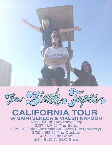 The Blank Tapes tour CA!