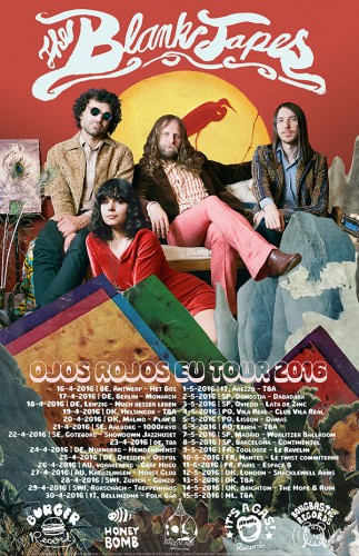 The Blank Tapes 2016 EU Tour!